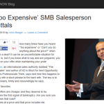 20 Too Expensive SMB Salesperson Rebuttals