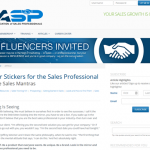 Bumper Stickers for Sales Professional