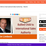 Bullied Child to International Sales Authority – Martin Limbeck